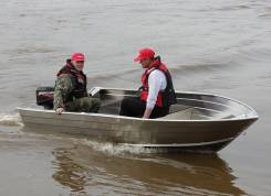 Алюминиевая моторная лодка Bester-390