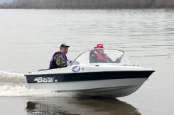 Стеклопластиковая моторная лодка Bester-400 капотная