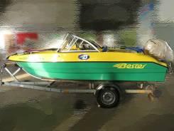 Стеклопластиковая моторная лодка Bester-485 open