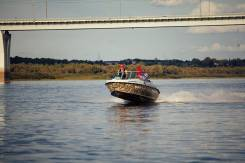 Комбинированная моторная лодка Bester-485 open