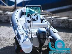 Корейская лодка Mercury Риб 400 Standrart с консолью, 5 лет гарантии!