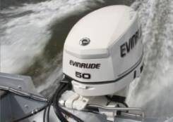 Продам лодочный мотор evinrude 50 новый