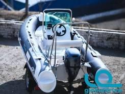 Корейская лодка Mercury Риб 400 Standrart с консолью, 5 лет гарантии