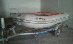 Надувная лодка Barrakuda AS 130-L плюс полный комплект