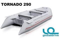 Новая надувная моторная лодка ПВХ Nissamaran Tornado 290. Гар-я 2 года