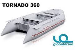 Новая надувная моторная лодка ПВХ Nissamaran Tornado 360. Гар-я 2 года