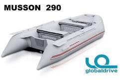 Новая надувная моторная лодка ПВХ Nissamaran Musson 290. Гар-я 2 года