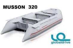 Новая надувная моторная лодка ПВХ Nissamaran Musson 320. Гар-я 2 года