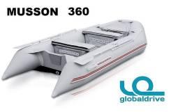 Новая надувная моторная лодка ПВХ Nissamaran Musson 360. Гар-я 2 года