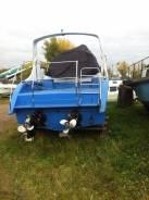 Лодка моторная с трюмом и кухней
