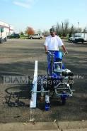 Продается  машина для нанесения дорожной разметки  с ручным управление