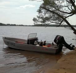 Моторнная лодка алюминиевая