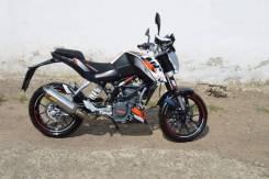 KTM 125 Duke, 2014