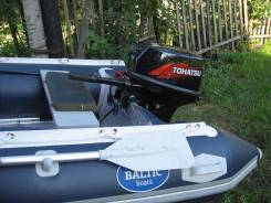 Моторная лодка балтик боат двигатель тохатсу 18