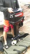 Лодка лидер 400 с мотором Тохатсу 25