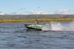 Хороший и мощный катер самодельный в Усолье-Сибирском