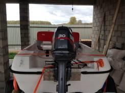 Моторная лодка laker 410