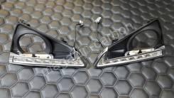 Ходовые огни (LED) Toyota Mark X 130 2012-2016. Toyota Mark X, GRX130, GRX133, GRX135 Двигатели: 2GRFSE, 4GRFSE