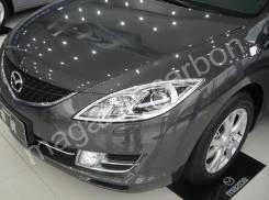 Хром накладки на фары Mazda Atenza 2008-2012