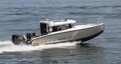 Алюминиевый катер XO 270 RS Cabin OB с подвесными моторами
