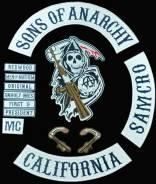 Патчи нашивки комплект сыны анархии sons of anarchy