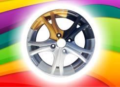 Полимерка22   Полимерная окраска дисков   Шиномонтаж!