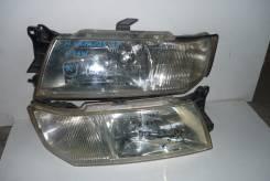 Фара. Mitsubishi Grandis