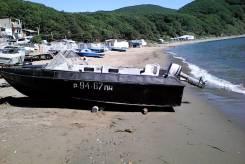 """Моторная лодка """" Крым-3"""" морского исполнения."""