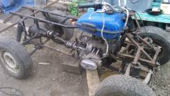 Квадроцикл на базе мотоцикла урал, 1986
