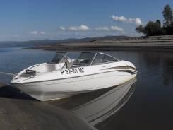 Катер - водомет  с двумя двигателями на 140 л. с. Yamaha sr-230,2003 го