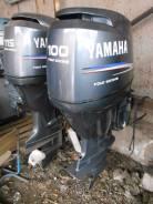 Yamaha. 100,00л.с., 4-тактный, бензиновый, нога L (508 мм), 2005 год. Под заказ