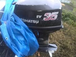 Продам лодочный мотор tohatsu 35ev на запчасти