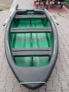 """Новая лодка """"Лиман"""" из жёсткого полиэтилена."""