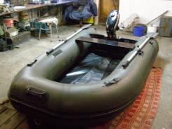 Продам лодку с надувным килем в комплекте с мотором
