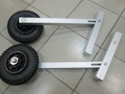 Колеса транцевые для надувной лодки 200 мм (комплект)