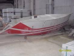 Килевая яхта недостроенная