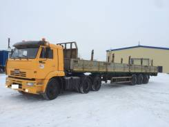 КамАЗ 65116. Продается сцепка: седельный тягач Камаз 65116 с п/п МАЗ 975800, 11 760куб. см., 28 000кг., 6x4