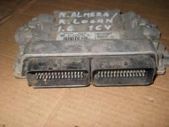 Блок управления двс Nissan Almera/R. Logan