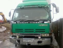 Продам Nissan-Diesel 1993г/в ,8х4(сороконожка)по запчастям с ПТС
