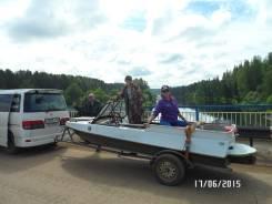Продам катер водомёт обь-м двиготель от гидроцикла