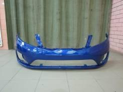 Бампер передний новый Kia Rio III цвет Синий