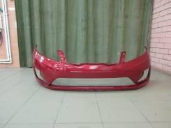 Бампер передний новый Kia Rio III цвет Красный