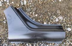 Порог кузова правый (фрагмент) задняя часть Peugeot 408