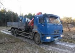 КамАЗ 65117 с кму Palfinger 15500, 2012
