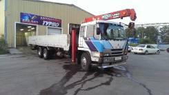 Услуги спецтехники: грузовик с краном.