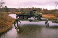 ТММ-3 на шасси КРАЗ-255 (тяжелый механизированный мост, конверсия).