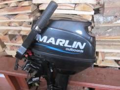 Продам мотор марлин 9.8 с лодкой