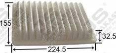 Фильтр воздушный A8504 17220-PZA-000  Круглосуточно в Артеме