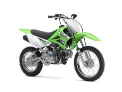 Мотоцикл Kawasaki KLX110 зеленый,Оф.дилер Мото-тех, 2016