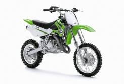 Мотоцикл Kawasaki KX65 (2 тактный) зеленый,Оф.дилер Мото-тех, 2017